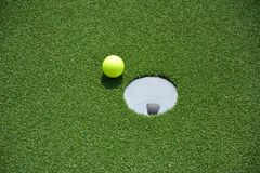 Minigolf-Spiel Lizenzfreies Stockfoto