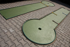 Minigolf tracks Stock Image