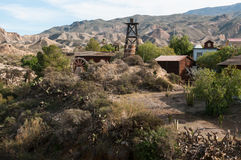 Minihollywood w sierra Nevada Zdjęcia Stock