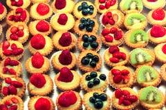 Minikuchen Lizenzfreie Stockfotos