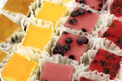 Minikuchen lizenzfreies stockfoto