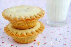 Minikuchen mit dem Füllen Lizenzfreies Stockfoto
