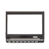 Minilcd TV voor auto die op wit wordt geïsoleerd Stock Fotografie