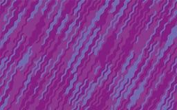 Minimaal ontwerp Abstract patroon met golflijnen Violet Striped Background Geometrische golvende achtergrond Vector illustratie Stock Fotografie