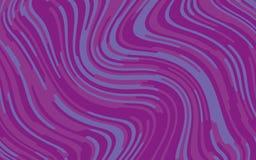 Minimaal ontwerp Abstract patroon met golflijnen Violet Striped Background Geometrische golvende achtergrond Vector illustratie Stock Afbeeldingen