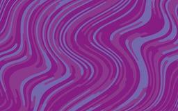 Minimaal ontwerp Abstract patroon met golflijnen Violet Striped Background Geometrische golvende achtergrond Vector illustratie Royalty-vrije Stock Foto