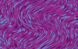 Minimaal ontwerp Abstract patroon met golflijnen Violet Striped Background Geometrische golvende achtergrond Vector illustratie Royalty-vrije Stock Foto's