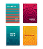 Minimal abstract covers gradients design with linear and shapes Stock Photos