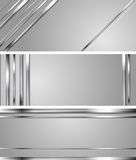 Minimal abstract technology silver vector headers Royalty Free Stock Photo