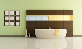 Minimal bathroom Stock Photography