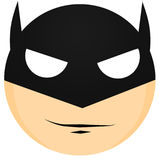 Minimal Batman Art Royalty Free Stock Image