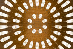 Minimal chandelier pattern. Minimal chanderier pattern design in Karuizawa Japan Royalty Free Stock Image