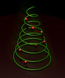 Minimal Christmas Tree. A Very Minimal Christmas tree Stock Photography