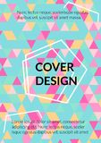 Triangle Cover Design. Template for Business Broshure,Cover Book, Flyer, Card. vector illustration
