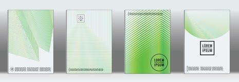 Vector geometric line pattern for poster design. royalty free illustration
