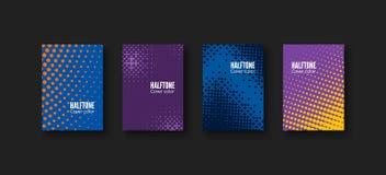 Minimal covers design. Geometric patterns set. Minimalistic identity template. Colorful halftone gradients. Vector illustration.  vector illustration