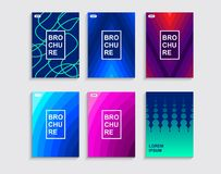 Minimal covers design. Stock Image