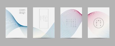 Covers set. Poster template geometric design. Abstract  Backgroung Eps10. Minimal covers set. Poster template geometric design. Abstract  Backgroung Eps10 Royalty Free Stock Images