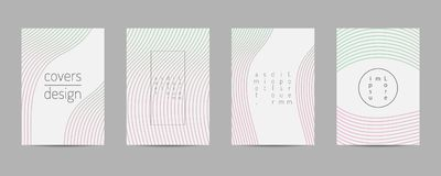 Covers set. Poster template geometric design. Abstract  Backgroung Eps10  Stock Images