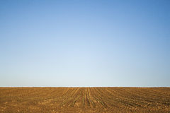 Minimal field Stock Image
