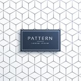 Minimal geometric line pattern background in hexagonal shape Stock Photos