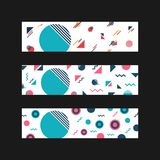 Minimal hipster pattern Royalty Free Stock Photography