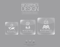 Minimal infographics design. Vector Stock Photos