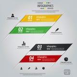 Minimal infographics design. Vector Royalty Free Stock Image