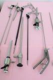 Minimal Invasionschirurgieausrüstungen Stockfoto
