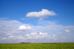 Minimal landscape Royalty Free Stock Images