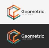Minimal line design logo Stock Photos