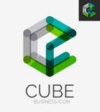 Minimal line design logo Stock Photo