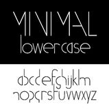 Minimal lowercase Font Symbol Icon Stock Photography