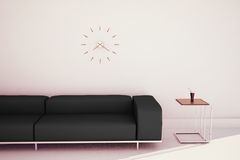 Minimal modern interior couch and table Royalty Free Stock Photo
