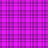 Minimal monochrome black purple seamless tartan check plaid pixel pattern for fabric designs. Gingham vichy pattern background. Eps10 royalty free illustration