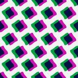 Minimal Pattern. Colorful stylish minimal seamless pattern stock illustration