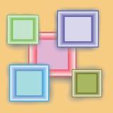 Minimal style frames Stock Photo