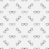 Minimal sunglasses pattern Stock Photos