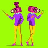 Minimal Surrealism Vector. Contemporary Art. Surreal, Minimalism. Illustration. Minimal Surrealism Vector. Art Collage. Surreal Illustration stock illustration