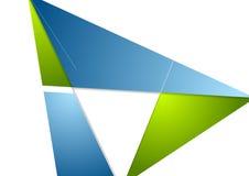 Minimal tech corporate brochure design Stock Image