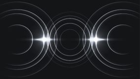 Free Minimal Three Cycles Sound Wave Stock Images - 117104254