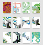 Minimal vector covers background set Stock Image