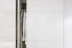 Minimal wardrobe Stock Photo