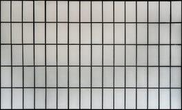 White brick wall tile pattern royalty free stock photos