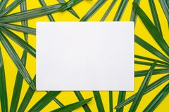 Minimal work space, Top view flat lay Stock Images