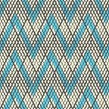 Minimal Zig Zag Graphic Design. Seamless Chevron Pattern Royalty Free Stock Photography