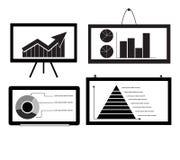 Minimale Kar, Grafiek, het Cirkeldiagram van de Grafiek van de Pijl, Py Royalty-vrije Stock Afbeeldingen