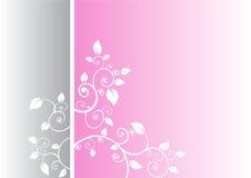 Minimaler Blumenhintergrund Lizenzfreie Stockfotografie