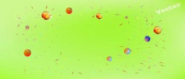 Minimaler breiter Raumhintergrund der Zusammenfassung ultra vektor abbildung