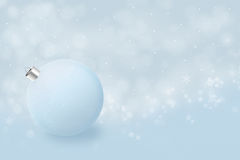 Minimalism del nuovo anno in azzurro Immagine Stock Libera da Diritti
